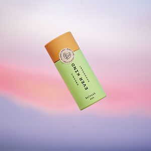 Everkind natural deodorant packaged in eco-friendly, purely paper-based tube