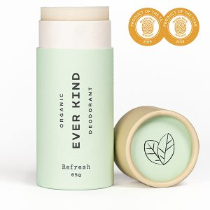 Everkind natural deodorant stick for active lifestyle